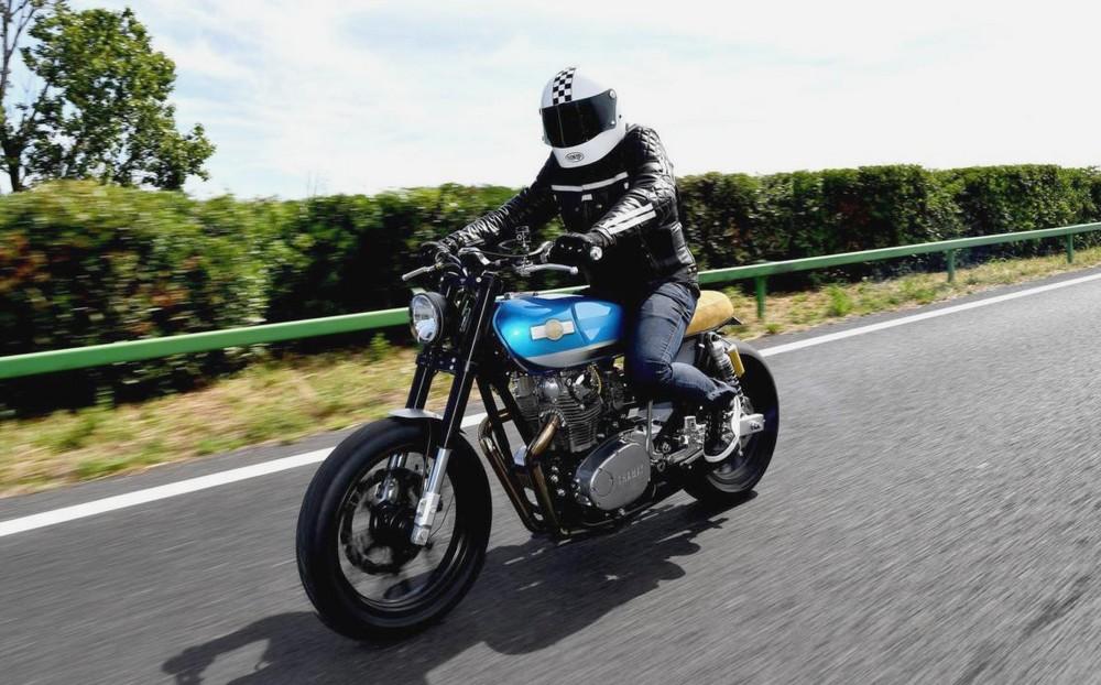 Des équipements de sécurité pour moto